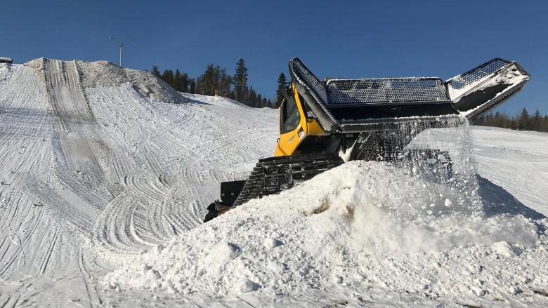 Arctic Winter Games snowboard park gets Olympic touch from northern designer
