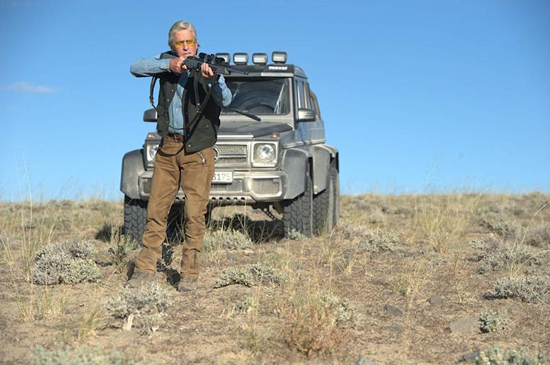 Michael Douglas in Beyond The Reach. (Lionsgate)