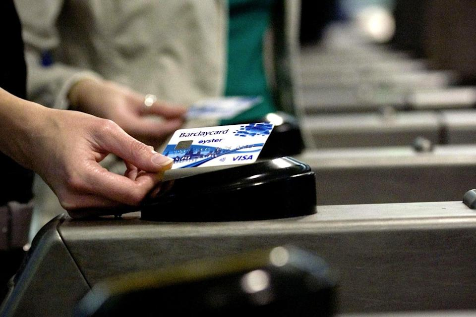 <p>The limit for a single contactless card payment was raised last year (Barclaycard/PA)</p> (Barclaycard/PA)