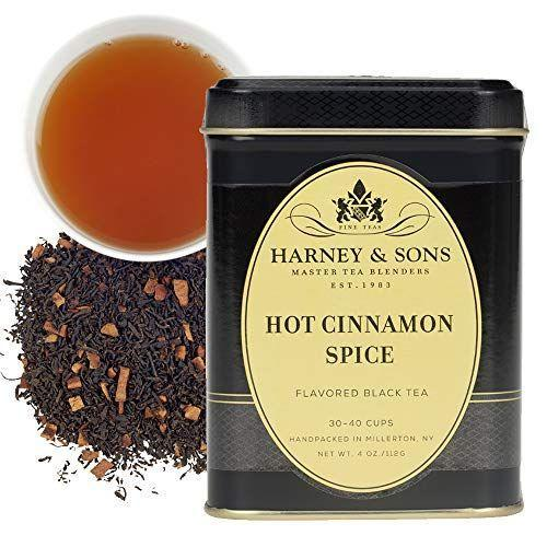 """<p><strong>Harney & Sons</strong></p><p>amazon.com</p><p><strong>$9.99</strong></p><p><a href=""""https://www.amazon.com/dp/B000WJRBXS?tag=syn-yahoo-20&ascsubtag=%5Bartid%7C10063.g.35419747%5Bsrc%7Cyahoo-us"""" rel=""""nofollow noopener"""" target=""""_blank"""" data-ylk=""""slk:Shop Now"""" class=""""link rapid-noclick-resp"""">Shop Now</a></p><p>This family-run New York based tea seller offers high-quality teas that look and taste far fancier than their price tag would suggest. Their selection runs the gamut from classic go-tos like English Breakfast to fruity blends like Blueberry Green, fan-favorite Hot Cinnamon Spice, and wellness teas made with Ayurvedic principals and hemp infusions. </p>"""