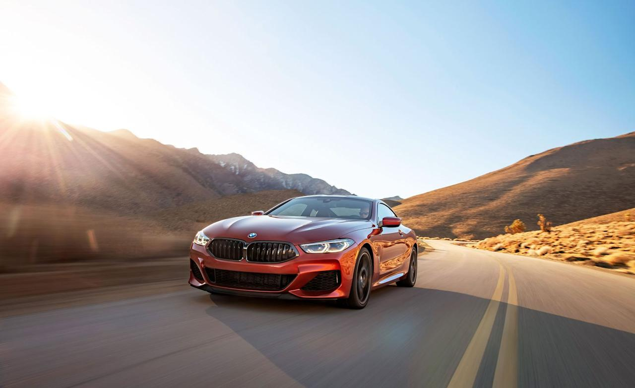 "<p>Compensating for any diminution of visual wallop, the new <a rel=""nofollow"" href=""https://www.caranddriver.com/bmw/8-series"">8-series</a> is a seriously fast automobile. And seriously capable in practically every way, too.</p>"