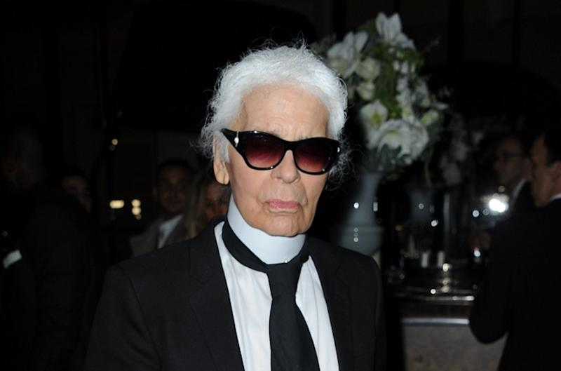 Image result for karl lagerfeld and meryl