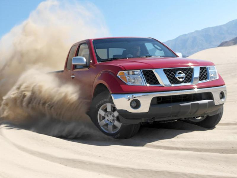 2005 Nissan Frontier pickup, photo