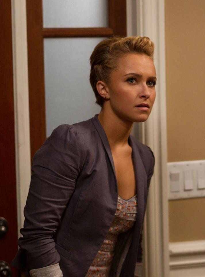 "<a href=""http://movies.yahoo.com/movie/contributor/1800019797"">Hayden Panettiere</a>  She plays newcomer Kirby Reed. Asked why she signed on for the film, she told reporters, ""There's just a great combination that people love so much about Scream -- sitting on the edge of your seat being terrified, but at the same time having those moments of comic relief."""
