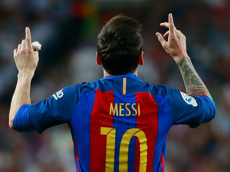 Lionel Messi scored a dramatic late winner to shake up La Liga's title race: Getty