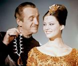 <p>The elusive Pink Panther diamond was a major focus of the 1963 film. While the 125-carat diamond necklace is faux, there's no mistake it led to an unbelievable onscreen moment. </p>