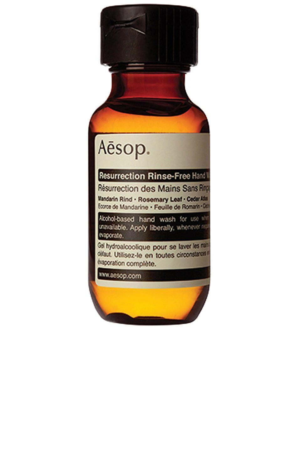"""<p><strong>Aesop</strong></p><p>revolve.com</p><p><strong>$10.00</strong></p><p><a href=""""https://go.redirectingat.com?id=74968X1596630&url=https%3A%2F%2Fwww.revolve.com%2Fdp%2FAESR-WU34%2F&sref=https%3A%2F%2Fwww.veranda.com%2Ftravel%2Fg37080014%2Ftravel-essentials%2F"""" rel=""""nofollow noopener"""" target=""""_blank"""" data-ylk=""""slk:Shop Now"""" class=""""link rapid-noclick-resp"""">Shop Now</a></p><p>Luxuriously smooth - so much so that it almost feels like a hand lotion - and a heavenly smell not even close to hand sanitizer makes this hand rinse the loveliest way to stay clean in the airport. </p>"""