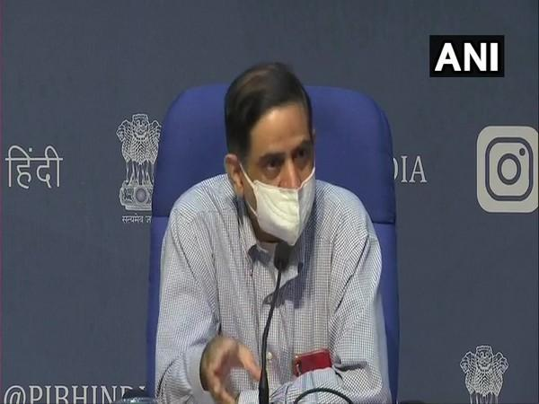 Dr.) Balram Bhargava, DG of Indian Council of Medical Research (ICMR) during a press conference in New Delhi on Tuesday. (Photo/ANI)