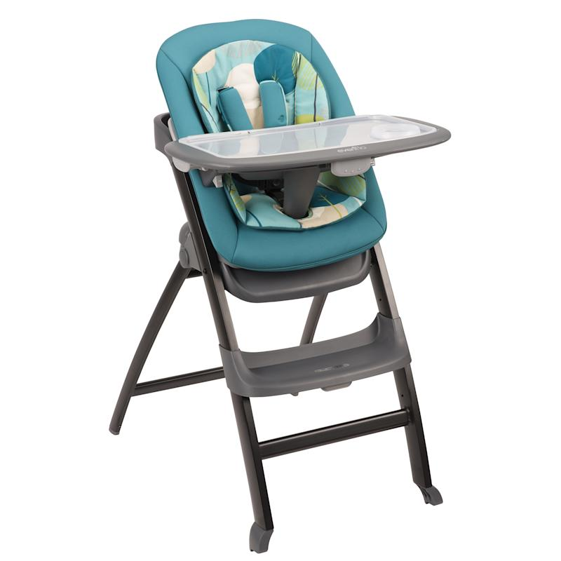 The winner in our  Grow with Baby  category this highchair is very easy to use and clean and comes at a great price. The seat rocks back allowing you to ...  sc 1 th 225 & Evenflo Quatore 4-in-1 High Chair