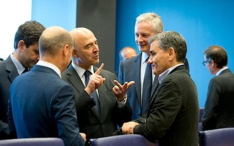 The deal was agreed at a meeting of eurogroup finance ministers at EU headquarters in Luxembourg on Thursday - Credit: AP
