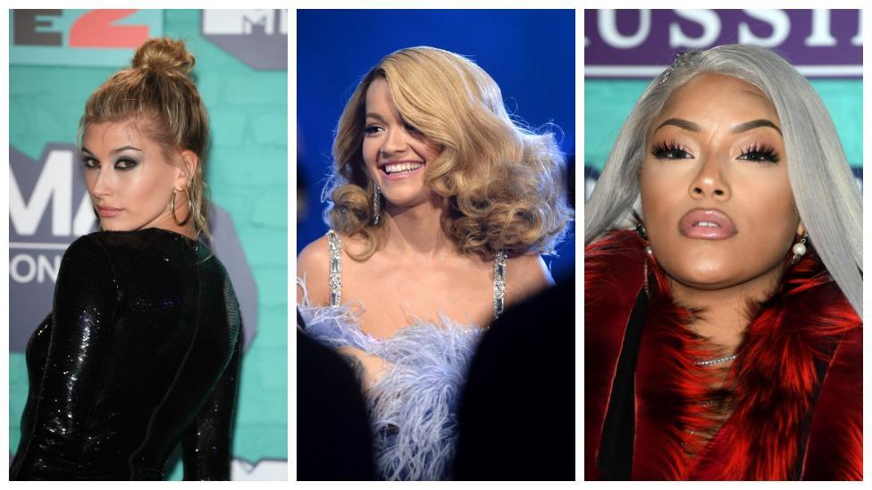 <p>The best beauty looks from the EMA's</p>