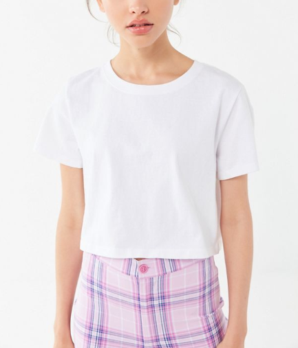 The Urban Outfitters Best Friend Tee is the perfect cropped top for any occasion. (Photo: urbanoutfitters.com)
