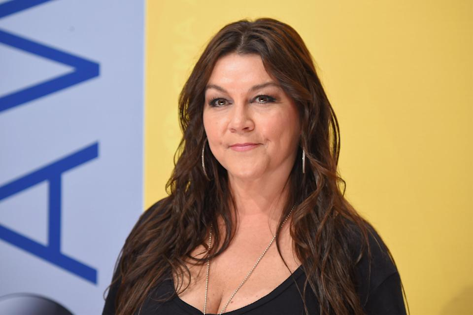Gretchen Wilson attends the 50th annual CMA Awards at the Bridgestone Arena on November 2016 in Nashville. (Photo: Getty Images)