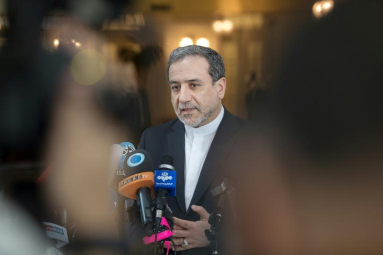 Iranian Deputy Foreign Minister Abbas Araghchi linked the country's ongoing tanker row to the Vienna talks over the ailing nuclear deal (AFP Photo/ALEX HALADA)