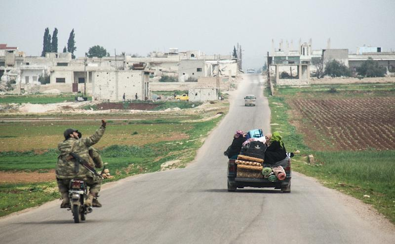 Syrian army prepares counterattack ahead of talks