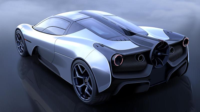 New image of Gordon Murray Automotive T.50 supercar showcased