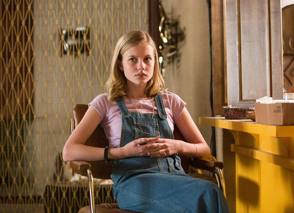 <p>It's not easy to command the spotlight when you're working opposite MVPs Russell Crowe and Ryan Gosling, which makes Rice's funny and feisty supporting turn as a gumshoe-ing 1970s L.A. teenager in Shane Black's latest movie a rare feat. (Photo: Warner Bros.) </p>