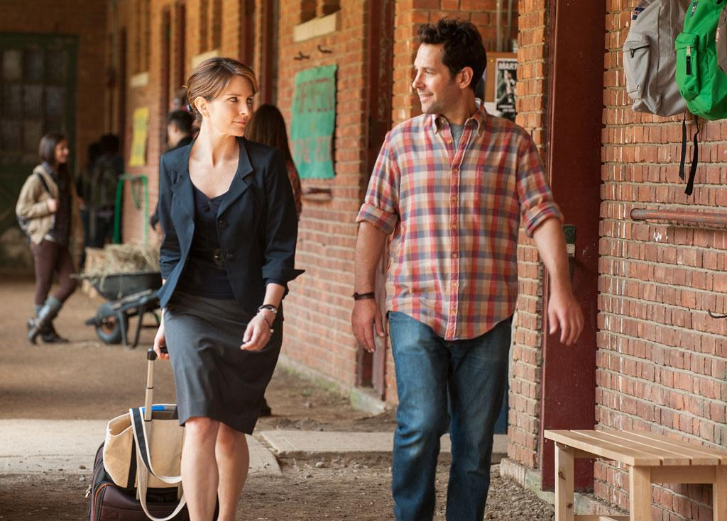 """Tina Fey and Paul Rudd in Focus Features' """"Admission"""" - 2013"""