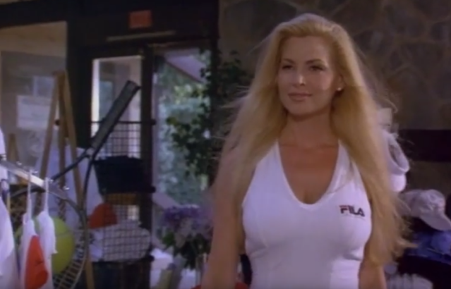 Former Internet model Cindy Margolis makes a cameo. (Photo: Lionsgate)