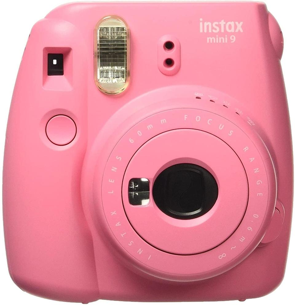 <p>Everyone's going to want one of these <span>Fujifilm Instax Mini 9</span> ($55, originally $69) cameras. They're such a throwback way to capture images!</p>