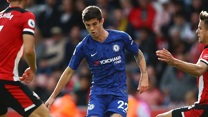 Pulisic offered encouragement by Lampard after returning to Premier League action with Chelsea
