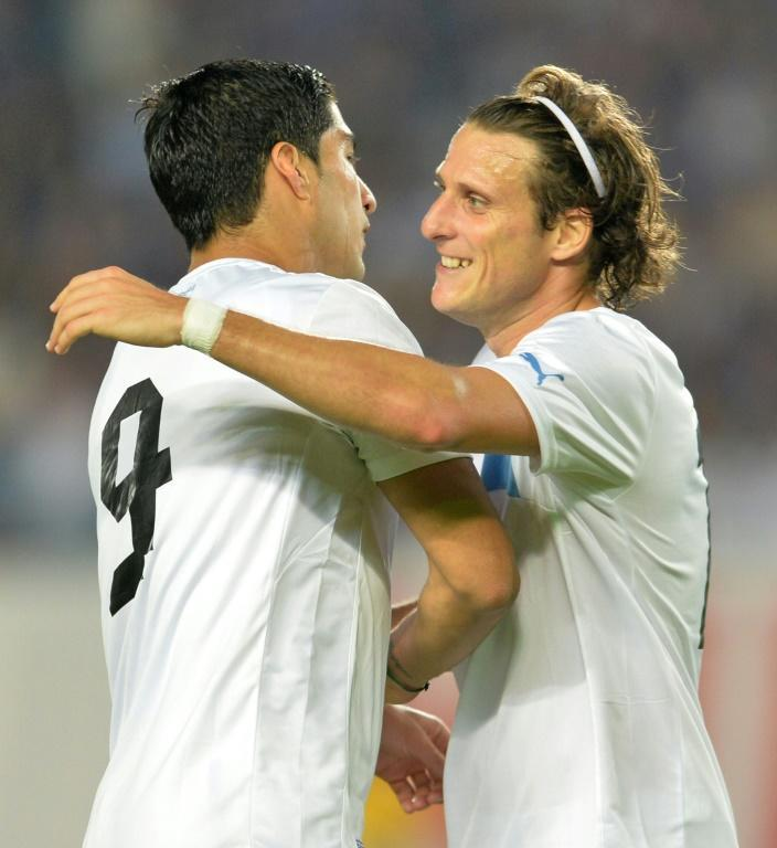 Forlan and Luis Suarez became friends while playing together for Uruguay.