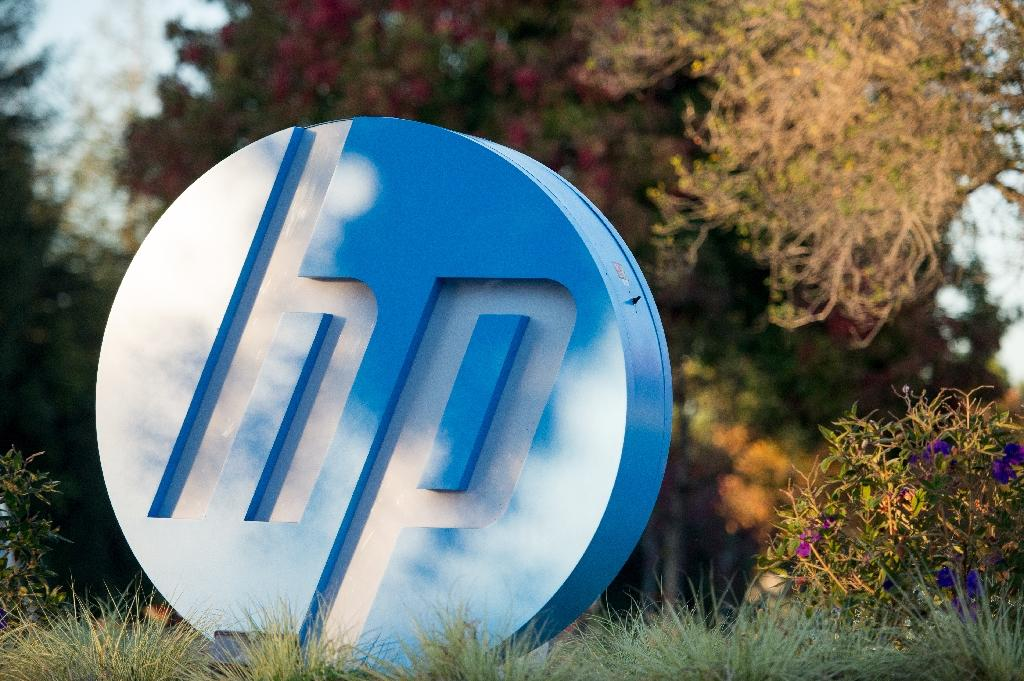 HPE, based in Palo Alto, California, was the result of the November 2015 breakup of computing giant Hewlett-Packard (AFP Photo/JOSH EDELSON)