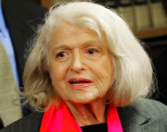 Edith Windsor, the plaintiff in the 2013 United States Supreme Court case that struck down a federal law defining marriage as between a man and a woman, died on September 12, 2017 at 88.