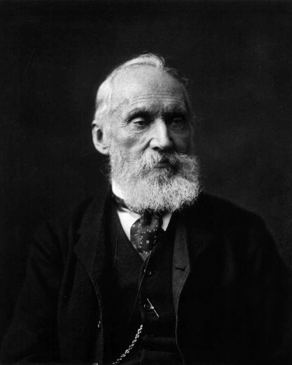 """<span class=""""caption"""">Lord Kelvin.</span> <span class=""""attribution""""><a class=""""link rapid-noclick-resp"""" href=""""https://commons.wikimedia.org/wiki/File:Lord_Kelvin_photograph.jpg"""" rel=""""nofollow noopener"""" target=""""_blank"""" data-ylk=""""slk:Smithsonian Libraries/Wikimedia"""">Smithsonian Libraries/Wikimedia</a></span>"""