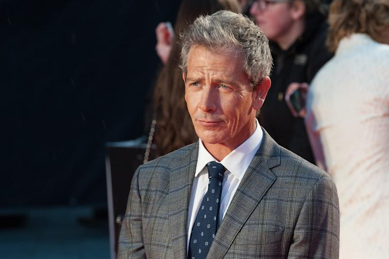 Ben Mendelsohn attends the UK premiere of 'The King' during the 63rd BFI London Film Festival. (Credit: Wiktor Szymanowicz/Barcroft Media via Getty Images)
