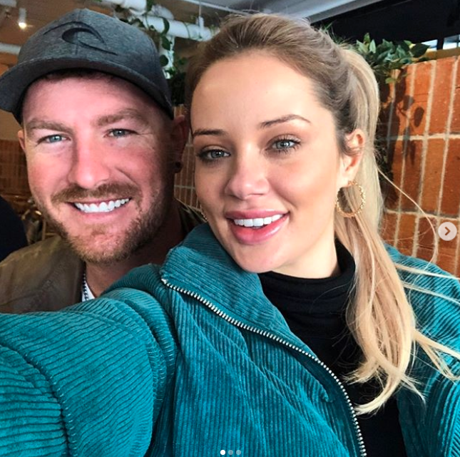 Jess and Nick were together until they annoucned their split in September. Photo Instagram/nick_furphy86