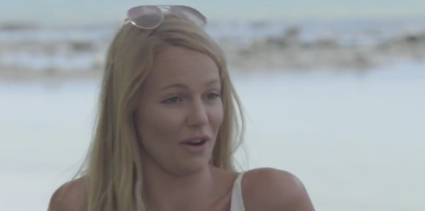 Time for Leah's bi-hourly threat to leave! Photo: Channel Ten