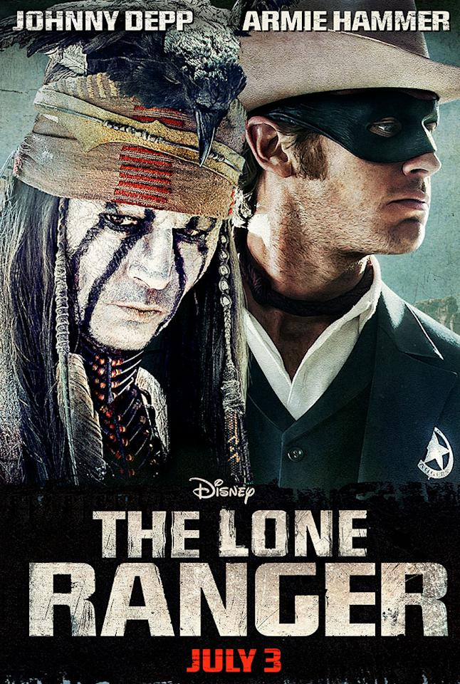 """Johnny Depp and Armie Hammer star in Walt Disney Pictures' """"The Lone Ranger"""" - 2013"""