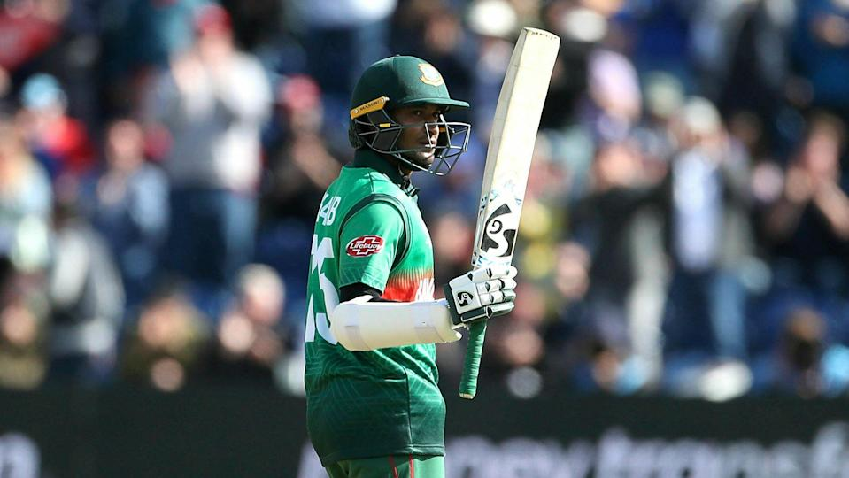 Bangladesh all-rounder Shakib Al Hasan smashed back-to-back centuries at the ongoing World Cup.