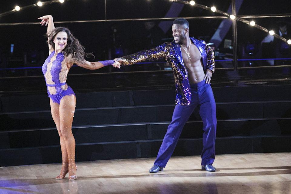 "<p>It's been reported that the professional dancers make close to $5,200 per episode, which adds up to about <a href=""https://www.ibtimes.com/how-much-do-dancing-stars-pros-get-paid-season-28-salaries-revealed-2826936"" rel=""nofollow noopener"" target=""_blank"" data-ylk=""slk:$100,000 per season"" class=""link rapid-noclick-resp"">$100,000 per season</a>.</p>"