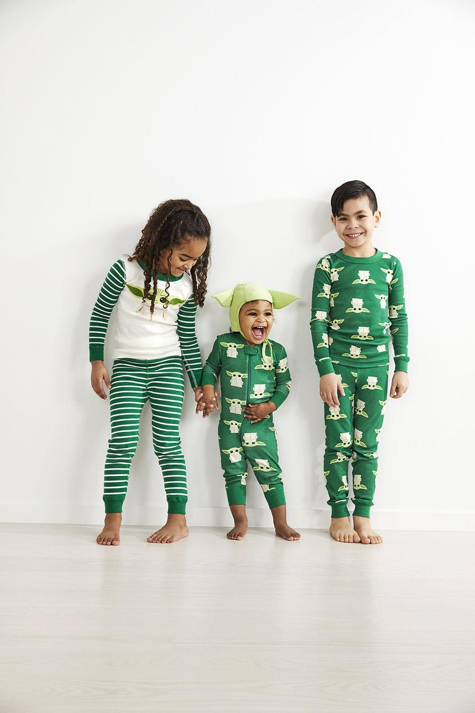 "<p>Dress <em>your</em> child up like The Child. The Hanna Andersson sleepwear is available in <a href=""https://go.redirectingat.com?id=74968X1596630&url=https%3A%2F%2Fwww.hannaandersson.com%2Fhanna-friends-star-wars%2F65018-TL8.html&sref=https%3A%2F%2Fwww.goodhousekeeping.com%2Fholidays%2Fgift-ideas%2Fg29624061%2Fstar-wars-gifts%2F"" rel=""nofollow noopener"" target=""_blank"" data-ylk=""slk:kids' long johns"" class=""link rapid-noclick-resp"">kids' long johns</a>, a <a href=""https://go.redirectingat.com?id=74968X1596630&url=https%3A%2F%2Fwww.hannaandersson.com%2Fhanna-friends-star-wars%2F65019-TL8.html&sref=https%3A%2F%2Fwww.goodhousekeeping.com%2Fholidays%2Fgift-ideas%2Fg29624061%2Fstar-wars-gifts%2F"" rel=""nofollow noopener"" target=""_blank"" data-ylk=""slk:one-piece sleeper"" class=""link rapid-noclick-resp"">one-piece sleeper</a>, a <a href=""https://go.redirectingat.com?id=74968X1596630&url=https%3A%2F%2Fwww.hannaandersson.com%2Fhanna-friends-star-wars%2F65020-TL8.html&sref=https%3A%2F%2Fwww.goodhousekeeping.com%2Fholidays%2Fgift-ideas%2Fg29624061%2Fstar-wars-gifts%2F"" rel=""nofollow noopener"" target=""_blank"" data-ylk=""slk:child hat"" class=""link rapid-noclick-resp"">child hat</a>, and even adult <a href=""https://go.redirectingat.com?id=74968X1596630&url=https%3A%2F%2Fwww.hannaandersson.com%2Fhanna-friends-star-wars%2F65556-TL8.html&sref=https%3A%2F%2Fwww.goodhousekeeping.com%2Fholidays%2Fgift-ideas%2Fg29624061%2Fstar-wars-gifts%2F"" rel=""nofollow noopener"" target=""_blank"" data-ylk=""slk:PJ tops"" class=""link rapid-noclick-resp"">PJ tops</a> and <a href=""https://go.redirectingat.com?id=74968X1596630&url=https%3A%2F%2Fwww.hannaandersson.com%2Fhanna-friends-star-wars%2F65557-TL8.html&sref=https%3A%2F%2Fwww.goodhousekeeping.com%2Fholidays%2Fgift-ideas%2Fg29624061%2Fstar-wars-gifts%2F"" rel=""nofollow noopener"" target=""_blank"" data-ylk=""slk:bottoms"" class=""link rapid-noclick-resp"">bottoms</a>.</p><p><a class=""link rapid-noclick-resp"" href=""https://go.redirectingat.com?id=74968X1596630&url=https%3A%2F%2Fwww.hannaandersson.com%2Fhanna-friends-star-wars%2F&sref=https%3A%2F%2Fwww.goodhousekeeping.com%2Fholidays%2Fgift-ideas%2Fg29624061%2Fstar-wars-gifts%2F"" rel=""nofollow noopener"" target=""_blank"" data-ylk=""slk:BUY NOW"">BUY NOW</a></p>"