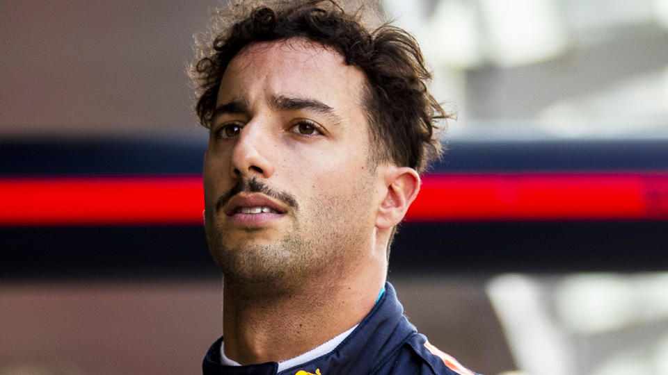 Daniel Ricciardo has copped a mild potshot from Red Bull boss Helmut Marko ahead of his switch to McLaren.  (Photo by Mark Thompson/Getty Images)