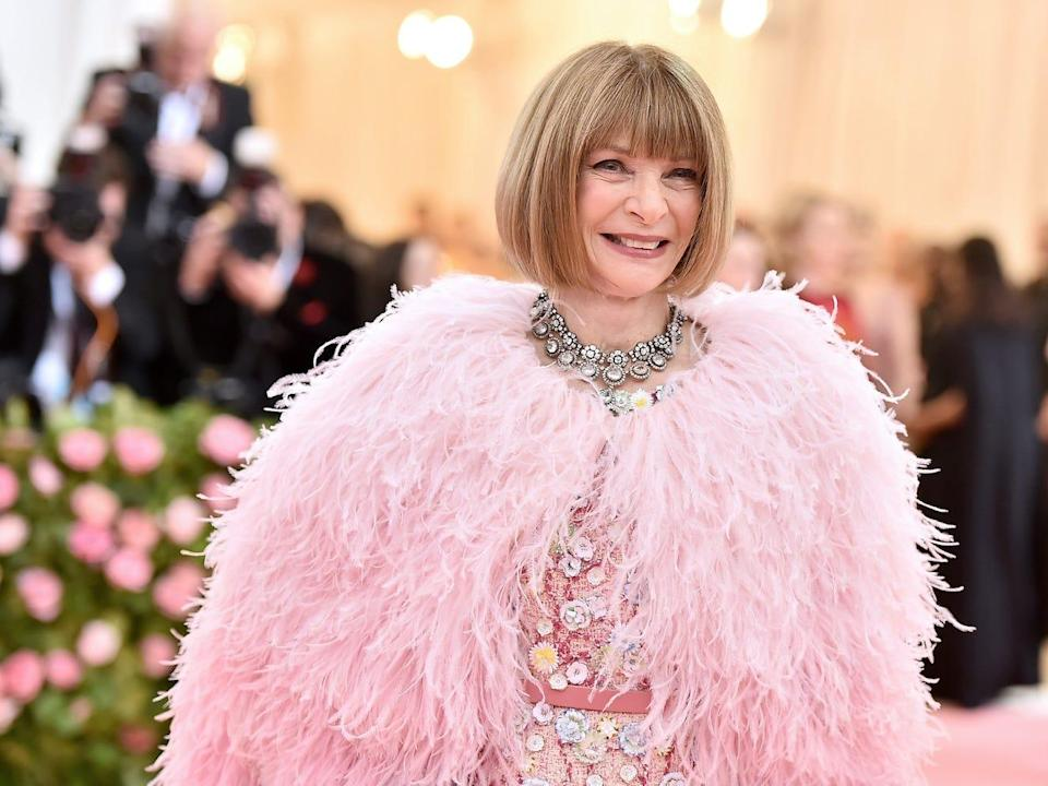 anna wintour 2019 met gala close up