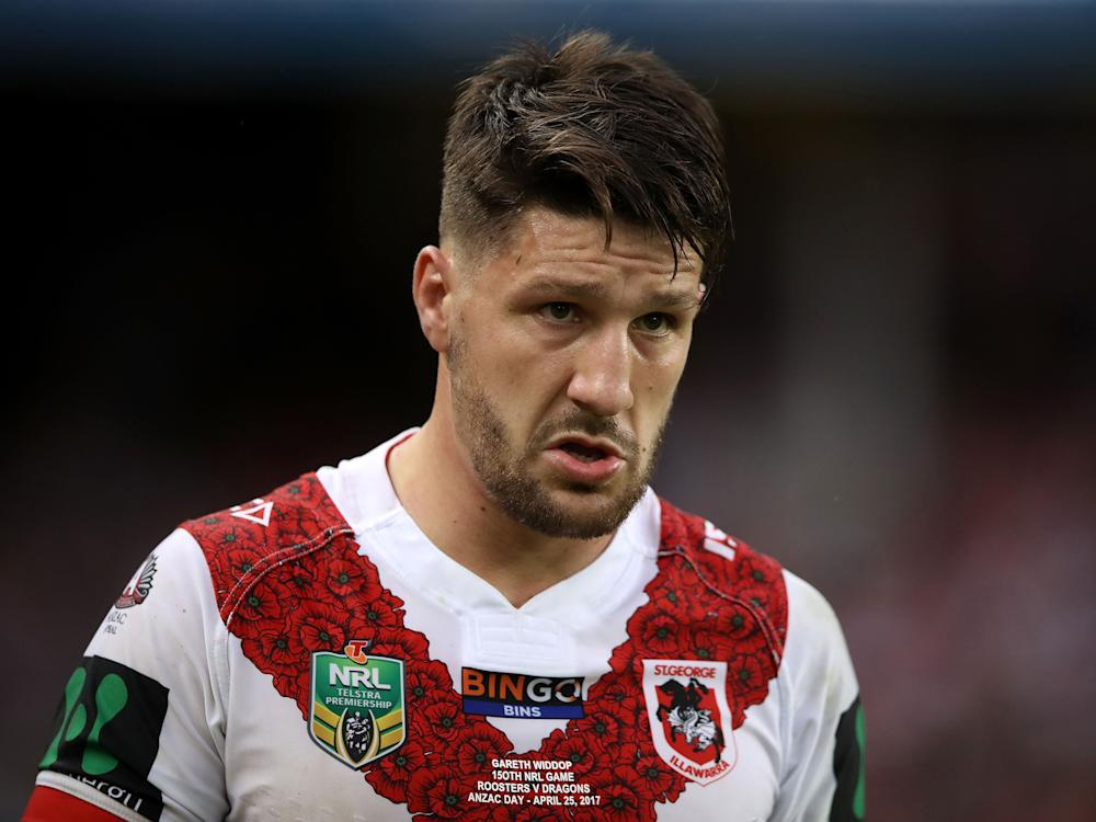 The Dragons captain is now a major doubt for the Test against Samoa: Getty