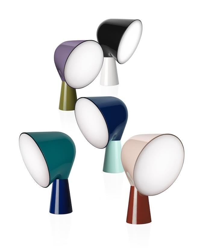 "As part of <a rel=""nofollow"" href=""https://www.foscarini.com/en/"">Foscarini's</a> Be Colour campaign for fall, architect <a rel=""nofollow"" href=""http://www.laviani.com/home"">Ferruccio Laviani</a> reimagined some of the brand's iconic designs—including <a rel=""nofollow"" href=""http://www.ionnavautrin.com/"">Ionna Vautrin's</a> Binic table lamp above—in bright color combinations."
