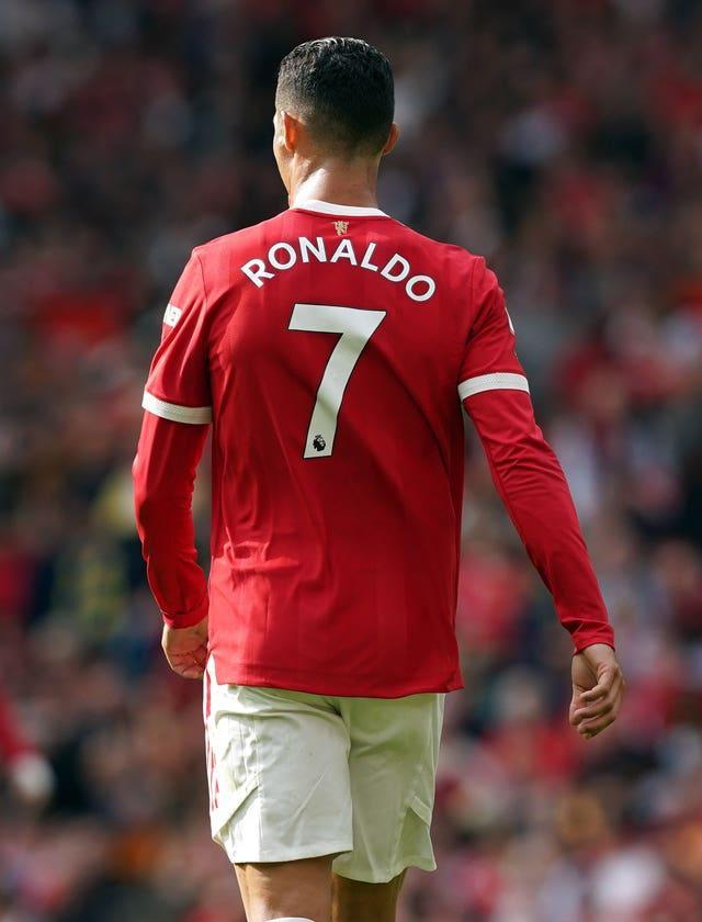 Ronaldo scored twice in his first appearance for Manchester United in 12 years