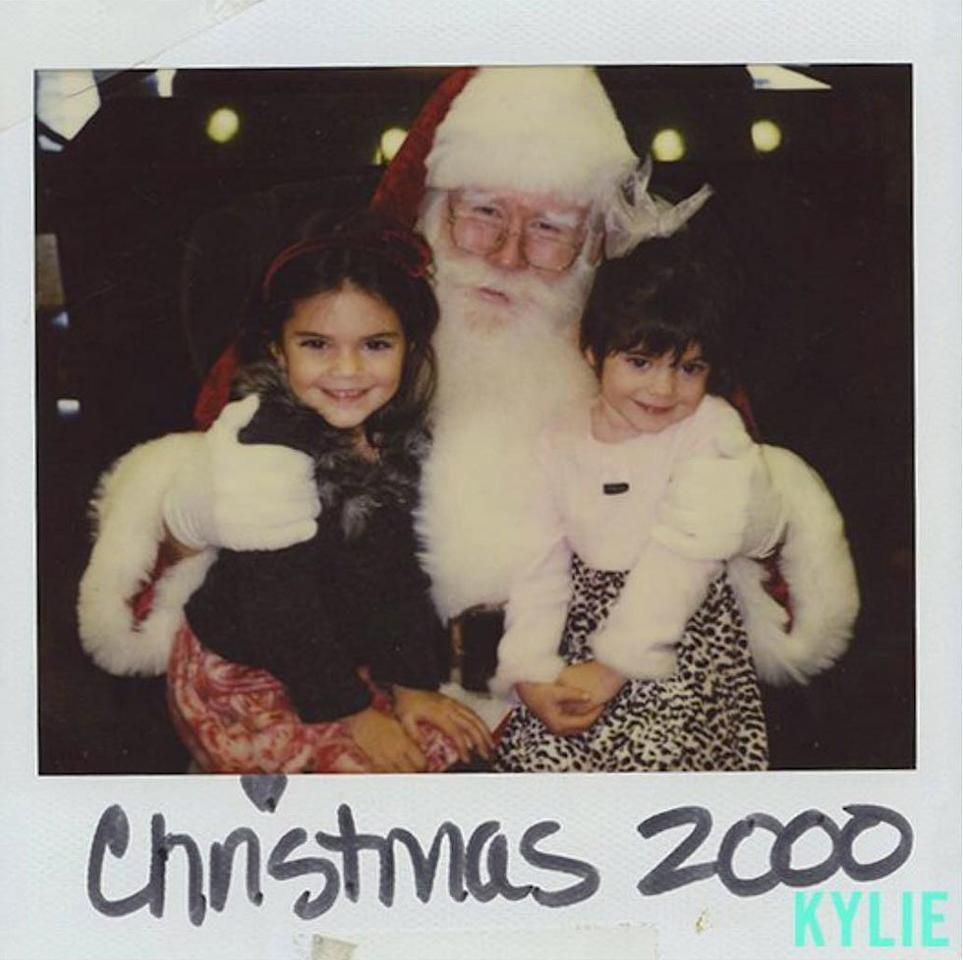 """<a href=""""http://people.com/tv/kendall-kylie-jenner-throwback-2000-santa-photo/"""">Then 5 and 3 years old</a>, respectively, we're guessing the sisters were begging santa for Razor scooters. After all, niece <a href=""""http://people.com/celebrity/penelope-disick-cute-instagram-photos/"""">Penelope Disick</a> had to inherit <a href=""""https://www.instagram.com/p/BDcXKvynGlS/"""">the obsession </a>from somewhere."""