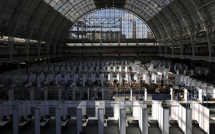 Ballot papers for the London Mayoral Election are collected and counted at Olympia - Dan Kitwood/Getty