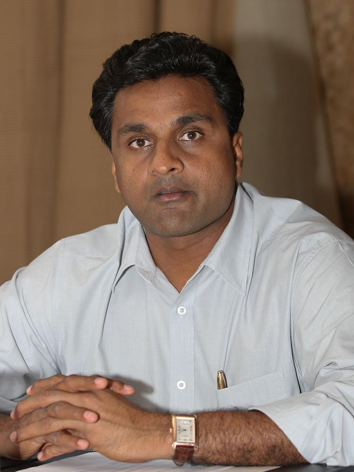 MUMBAI, INDIA - APRIL 21:  Former Indian cricketer Javagal Srinath attends the IPL Jury Meeting at the Grand Hyatt on April 21, 2010 in Mumbai, India.  (Photo by Chirag Wakaskar-IPL 2010/IPL via Getty Images)