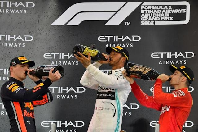 Verstappen and Leclerc are bidding to end Hamilton's period of dominance (AFP Photo/Giuseppe CACACE)