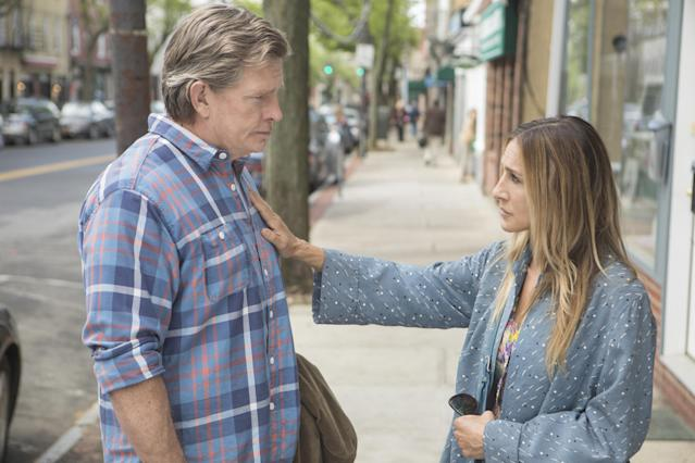 Thomas Haden Church and Sarah Jessica Parker in <em>Divorce</em> (Photo: Craig Blankenhorn/HBO)