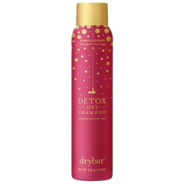"""<p>While <a href=""""https://www.popsugar.com/beauty/best-dry-shampoo-under-25-sephora-47725825"""" class=""""link rapid-noclick-resp"""" rel=""""nofollow noopener"""" target=""""_blank"""" data-ylk=""""slk:we already love the original formula"""">we already love the original formula</a>, this <span>Drybar Berries and Bubbles Detox Dry Shampoo</span> ($23) gets more festive for the upcoming holiday season with a limited-edition scent of strawberries and champagne.</p>"""