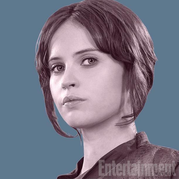 """<p>A streetwise delinquent who has been on her own since 15, she has fighting skills and a knowledge of the galactic underworld that the Rebel Alliance desperately needs. """"She's got a checkered past,"""" says Lucasfilm president and <i>Rogue One</i> producer Kathleen Kennedy. """"She has been detained [by the Rebellion] and is being given an opportunity to be useful. And by being useful, it may commute her sentence… She's a real survivor. She becomes a kind of Joan of Arc in the story."""" <i><b>Related:<a href=""""http://www.ew.com/article/2016/06/03/rogue-one-reshoots"""">Inside the reshoots of 'Rogue One: A Star Wars Story'</a></b></i></p>"""