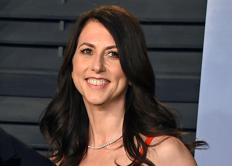 MacKenzie Scott, ex-wife of Jeff Bezos, has donated an additional $2.7 billion to charity (2018 Invision)