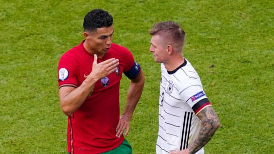 Cristiano Ronaldo, Toni Kroos | BSR Agency/Getty Images